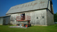Looking for old wooden barns that need to be taken down