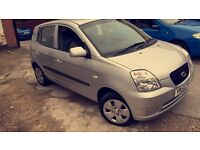 Kia picanto 1.0 GS 1 lady owner from new 2006 82k cheap car bargain
