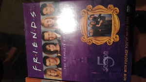 Friends seasons 2, 4, and 5