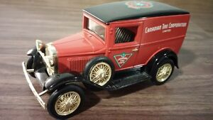 steel diecast model A Canadian Tire coin bank