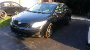 2010 Toyota Corrola CE with remote starter & winter tires