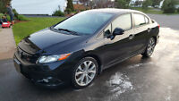 2012 HONDA CIVIC Si MANUAL 6 SPEED BLACK