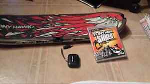 Tony hawk shred board and game