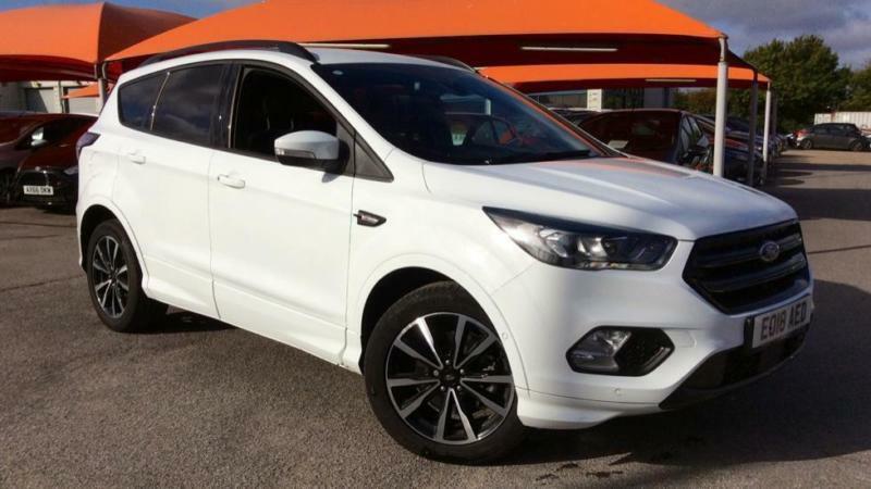 2018 ford kuga 2 0 tdci st line 2wd manual diesel mpv in. Black Bedroom Furniture Sets. Home Design Ideas