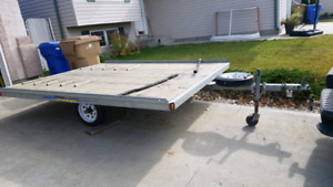 2 place sled / atv trailer