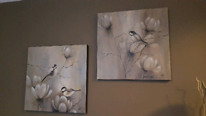 Canvas art prints - birds