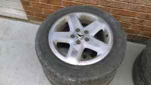 17 inch acura rims and all season tires