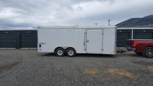 """RENT ME"" 20ft Enclosed Cargo Trailer"