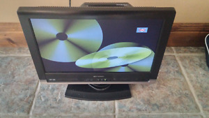 "19"" Emerson HDTV with DVD player built in"