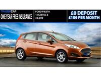 Ford Fiesta 1.0 EcoBoost 2014.5 Zetec - FREE INSURANCE!!!