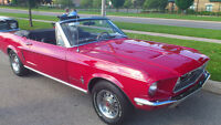 68 MUSTANG GT TRIBUTE CONVERSION CONVERTIBLE