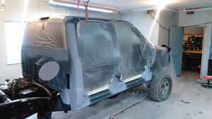 Automotive body repairs and collision repairs