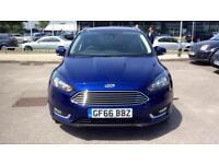 2016 Ford Focus 1.5 TDCi 120 Titanium 5dr Manual Diesel Estate