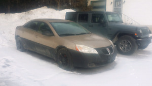 2005 pontiac g6 with low kms Reduced !!