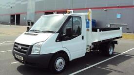 Ford Transit 2.4TDCi Duratorq ( 100PS ) 350M ( DRW ) 350 MWB TIPPER