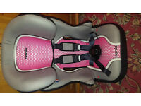 childs car seat/booster with high back ..new