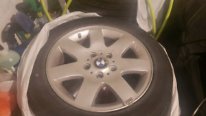 BMW e46  16 inch wheels and tyres