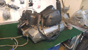 Complete engine scooter yamaha bws'r 50cc 2 temps