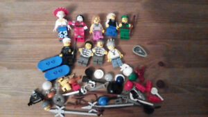 Lego Mini figures with some accessories
