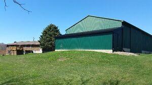 1.6 Acres! Huge Workshop! Ravine Lot! Country views!
