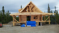LOG HOME RESTORATION  & STAINING