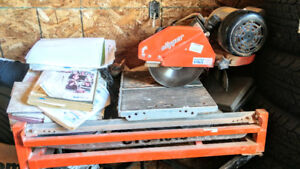 Clipper Industrial Tile Saw