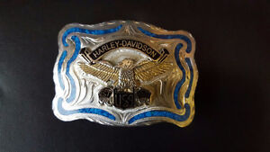 HD BELT BUCKLE & BELT