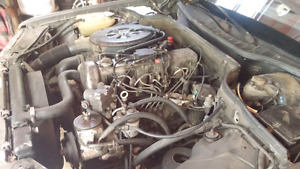 looking for mercedes diesel parts car or engine