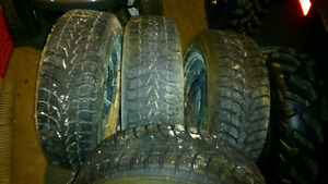 Chrysler winter tires and rims