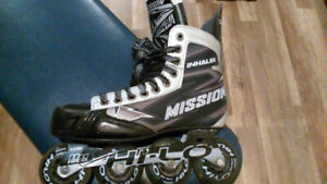 patin roller hockey mission