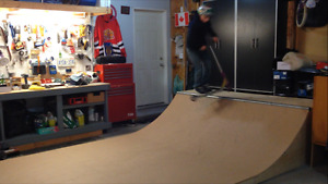 Skateboad Halfpipe