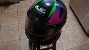 hjc snowmobile helmet with heated shield size large
