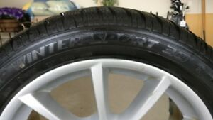 BMW Snow tire package (Used 1 Season 80% tread)