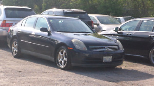 2003 G35 sedan mint . Certified /etest .