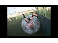 Zorb / bubble football