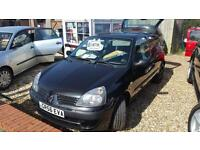 2006 Renault Clio 1.2 ( 60bhp ) Campus nice looking car warranty only 2 owners