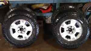 F150 rims and dura Trac tires