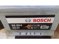 Bosch S5 004 Car Battery from Vauxhall Astra with 4 Year Warranty