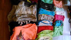 at least 70 items ladies medium/large clothing