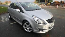 2007 Vauxhall Corsa 1.6 16v SRi turbo silver vxr body kit 75023 miles shrewsbury