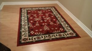 """Area Rug 7'-4"""" x 5'-3"""" Barely Used - Clean Pet Free Home"""