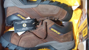 Caterpillar leather safety shoes