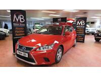 2014 LEXUS CT 200h 1.8 S CVT Auto Bluetooth Auto Lights Facelift Model DAB