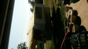 3 way fold out tent trailer $600.00
