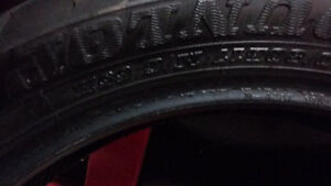 Dunlop American Elite  front tire used
