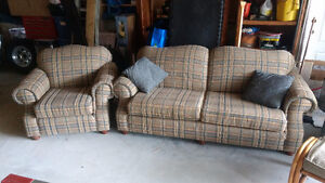 Couch chairs ottoman