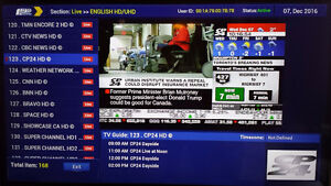 $1 per day watching HD live channels, Call: 226-240-0609