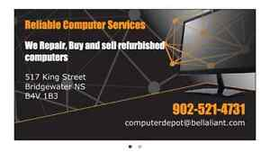 we are looking to buy your used computers
