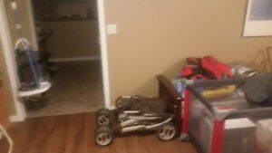 Car seats strollers playpens clothes