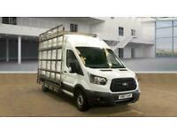 2017 Ford Transit 350 L3 H3 LWB High Roof Van Glass Racks *EURO 6* Panel Van